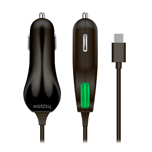 USB С Car charger 023-001,1.2А , 1.2м