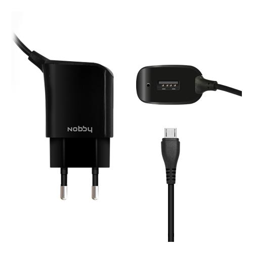USB Wall Charger 009-001 microUSB 1.2 А