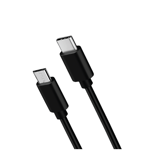 Data Cable 013-001 USB-C - microUSB, 2.1A, 1.2 m