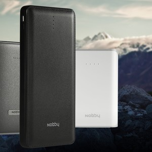 Powerful and compact Nobby power banks with stylish design