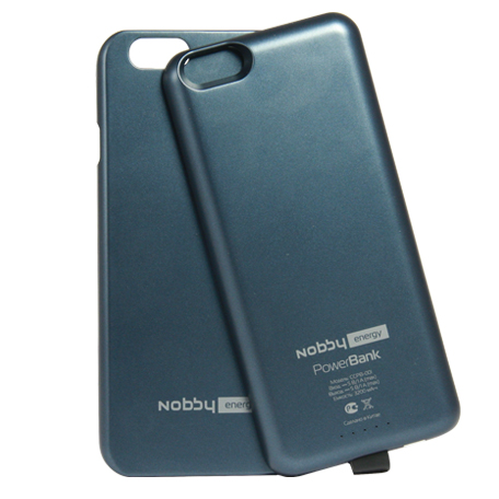 Nobby внешний аккумулятор 3200 Mah кейс для Iphone 6 Mfi тёмно